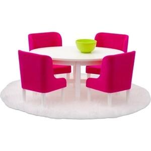 Набор мебели для домика Lundby Смоланд Обеденная группа в малиновых тонах, (LB_60208000)