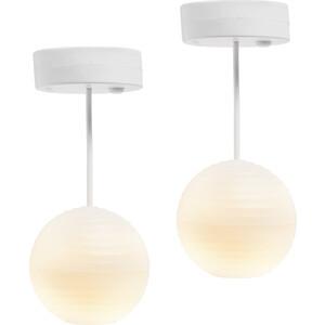 Освещение для домика Lundby Люстра с абажуром из рисовой бумаги 2 шт., (LB_60605100)