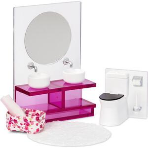 Набор Lundby мебели для домика Ванна комната, (LB_60306100)