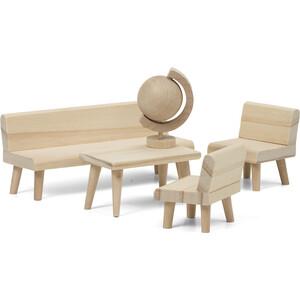 Набор деревянной мебели для домика Lundby Сделай сам Гостиная, (LB_60906100)