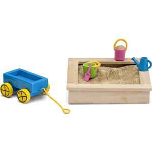 Игровой Набор для домика Lundby Смоланд Песочница с игрушками, (LB_60509600)