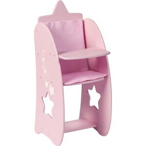 Стульчик для кормления кукол PAREMO Звездочка, цвет: розовый, (PFD120-64)
