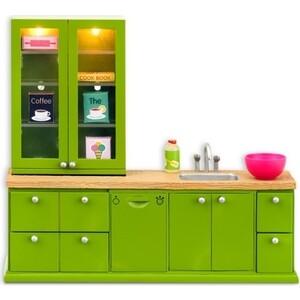 Кукольная мебель Lundby Смоланд Кухонный Набор с буфетом, (LB_60207700)