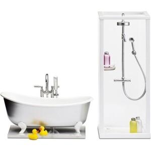 Набор мебели для домика Lundby Смоланд Ванная и душевая, (LB_60208900)