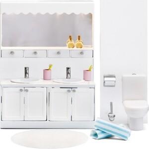 Мебель для домика Lundby Смоланд Ванная с 2 раковинами, (LB_60208800)