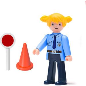 Фигурка женщины-полицейской EFKO 8 см с аксессуарами, (30219EF-CH)