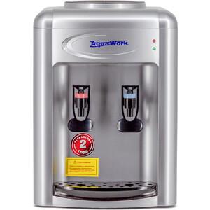 Кулер для воды Aqua Work AW 0.7TKR (серебро), только нагрев, настольный aqua work aw 16t еn white