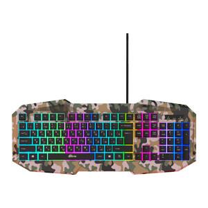 Клавиатура Ritmix RKB-550 Khaki