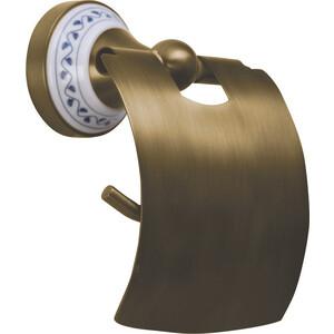 Держатель туалетной бумаги Bemeta Kera с крышкой бронза (144712017)