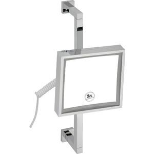 Зеркало косметическое Bemeta Mirror x3 увеличение, с подсветкой (112101182)