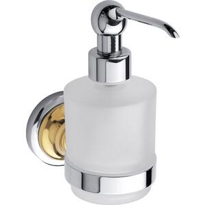 Дозатор для жидкого мыла Bemeta Retro Mini хром/золото (144209108)