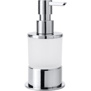 Дозатор для жидкого мыла Bemeta Omega стекло матовое (138109161)