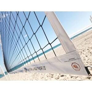 Сетка для пляжного волейбола El Leon De Oro арт. 14449075001, 8.5х1м, нить 3мм ПП, черный