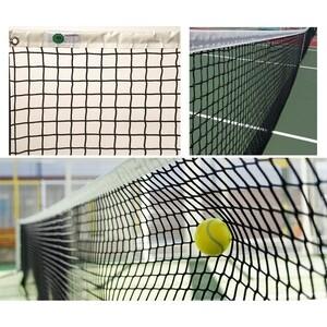 Сетка для большого тенниса El Leon De Oro арт. 13444504501, нить 4мм ПП, верх.лента черный