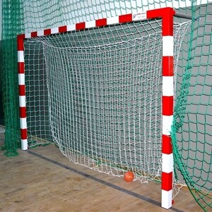 Сетка-гаситель гандбол El Leon De Oro арт. 10449530000, a/3.5 b/2.2 м, 3мм ПП бел