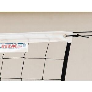 Сетка волейбольная Kv.Rezac любит., арт. 15935108400, черн., 9.5х1м, нить 2мм ПП