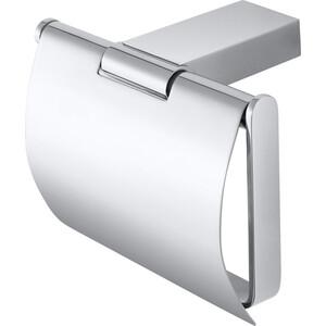 Держатель туалетной бумаги Bemeta Via с крышкой (135012012)