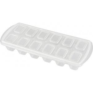 Формочка для льда Plast Team 12 ячеек с крышкой микс