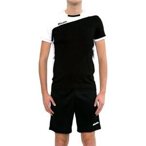 Форма волейбольная мужская Mikasa муж., арт. MT350-046-L, р. L, 90% полиэстер, 10% эластан, черно-белый