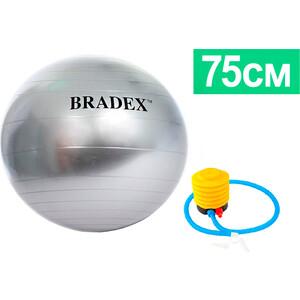 Мяч для фитнеса Bradex SF 0380 антивзрыв 75 см с насосом