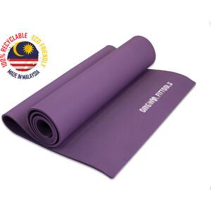Коврик для йоги Original FitTools 1900x600 6 мм фиолетовый