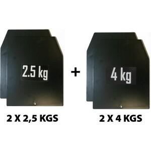 Комплект весовыx пластин Original FitTools для утяжелительного жилета