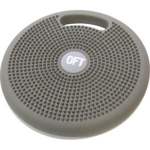 Массажно-балансировочная подушка Original FitTools с ручкой серая