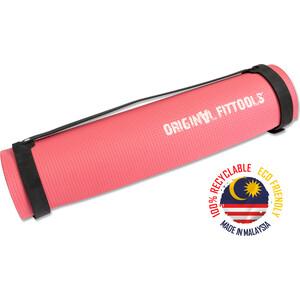 Мат для аэробики Original FitTools 6 мм розовый
