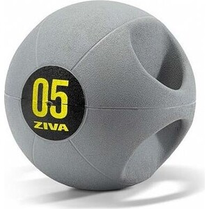 Медбол ZIVA с ручками, 8 кг