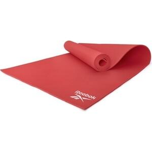 Коврик для фитнеса Reebok RAYG-11022RD красный 4 мм