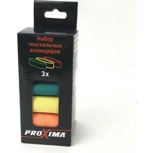Набор эспандеров Proxima текстильных (3 шт.) арт. PB82802