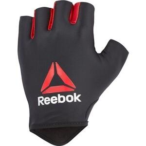 Перчатки для занятия спортом Reebok RAGB-13515 фитнеса (черный/красный), разм. L