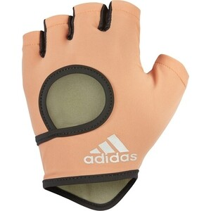 Перчатки для фитнеса Adidas Chalk Coral - L
