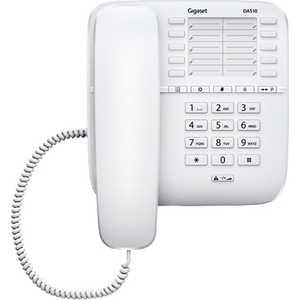 Проводной телефон Gigaset DA510 white