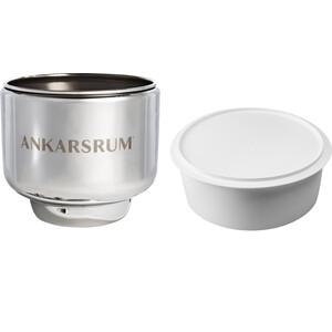 Стальная чаша с пластиковой крышкой Ankarsrum Bowl with cover