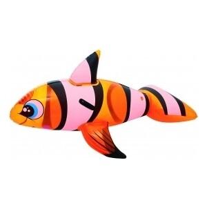Надувная игрушка-наездник Bestway 41088 BW Рыба-клоун с ручками, 157х94см