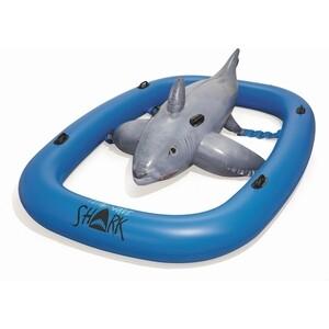 Фото - Надувная игрушка-наездник Bestway 41124 BW Акула, 310х213см надувная игрушка bestway плезиозавр 41128 bw