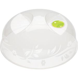 Крышка для микроволновки (СВЧ) Бытпласт (230 мм) (бесцветный)