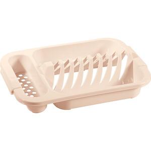 Сушилка Бытпласт для посуды 345x240x72 мм (бежевый)
