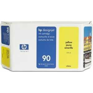 Картридж HP 90 400ml yellow (C5065A) цены