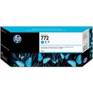 Картридж HP 772 300ml cyan (CN636A)