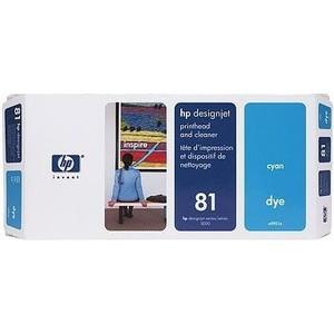 HP Печатающая головка 81 cyan (C4951A)