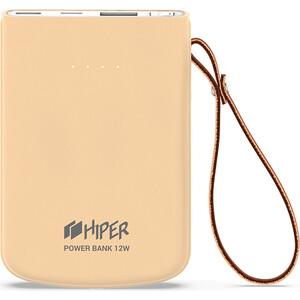 Внешний аккумулятор Hiper TRAVEL 5K Peach Li-Pol 5000mAh Peach