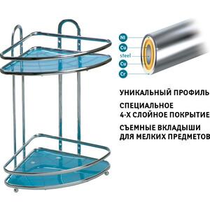 Полка Tatkraft KAISER mini 2-х ярусная угловая (10055)