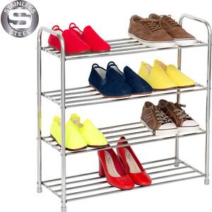 Этажерка Tatkraft GOOD для обуви четырехярусная (10185)