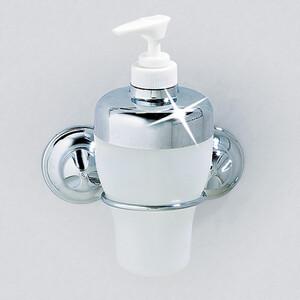 Дозатор для жидкого мыла EverLoc на 2 присосках 7,9x11x10см (10224)