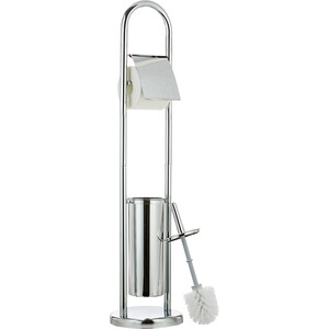Гарнитур для туалета Tatkraft VIVIAN с держателем туалетной бумаги и ершиком (13070)