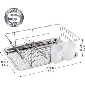Сушилка для посуды Tatkraft CLASS 39*29*12см (16415)
