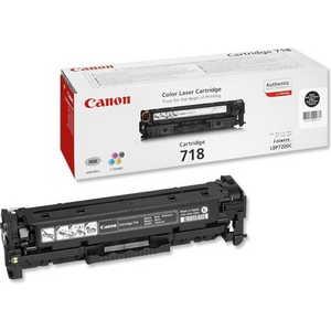 Картридж Canon 718Bk black (2662B002) цена 2017