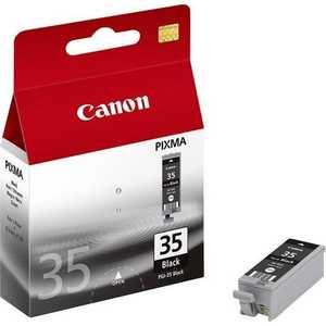 Картридж Canon PGI-35Bk black (1509B001) картридж canon pgi 35 black для pixma ip100 1509b001